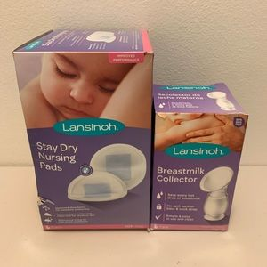 Breastmilk Collector & Stay Dry Nursing Pads